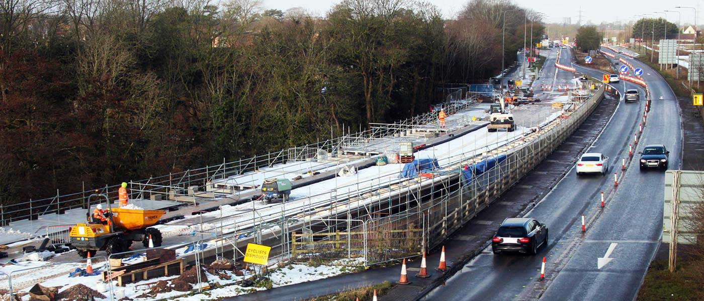 Bromley Heath Viaduct, Fibre Reinforced Polymer (FRP) Pedestrian Walkway